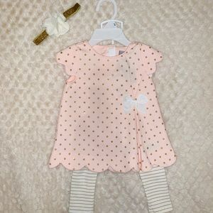 Baby girl outfit w/ headband